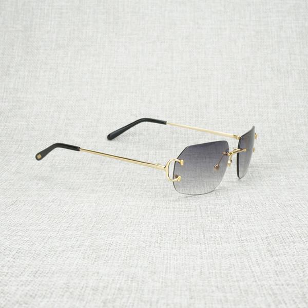 gold frame grey