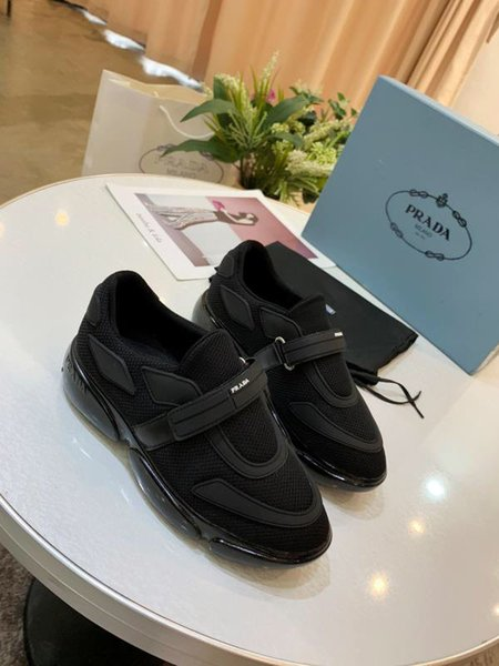 Black mesh breathable platform sneakers Classical outdoor jogging walking brand fashion luxury women running shoes custom packaging#1F