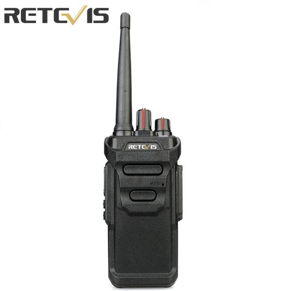Retevis RT48 Radio Talkie Walkie PMR FRS IP67 Radio bidirectionnelle Portable IP67 Station UHF étanche VOX