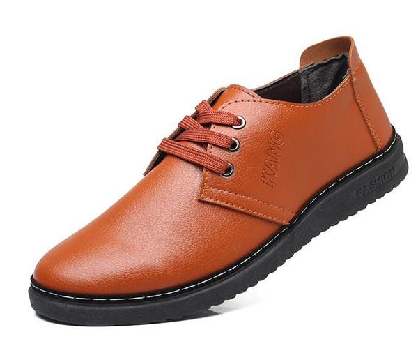 2019 casual estate tenis mens sneakers scarpe da uomo in pelle sapatos homens vestito convenzionale zapatos para air mocassim boost chaussure