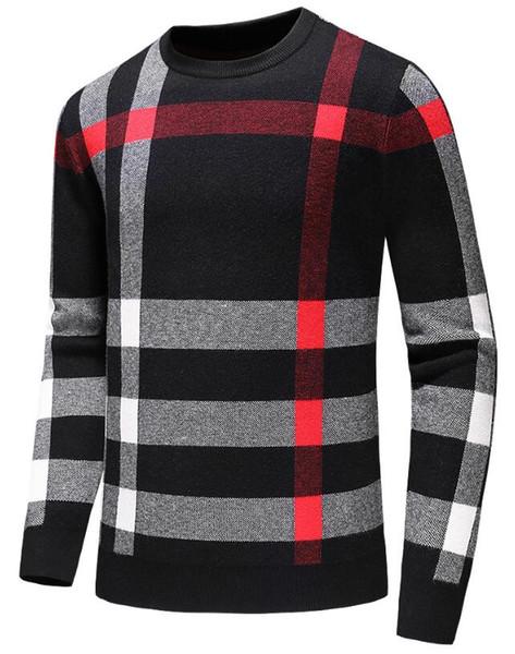 nuevos suéteres de estilo para los hombres CDburberry manga larga carta de impresión par de suéteres de otoño suéteres jersey sueltos para las mujeres el envío libre