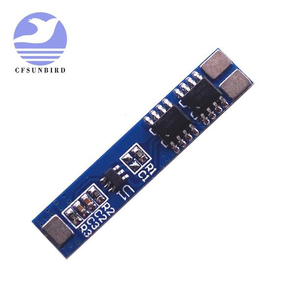 5 Pcs 2 S 5A 7.4 V / 8.4 V 18650 Bateria de Lítio Carregador de Bateria de Li-ion Carregamento BMS Sobre Carga-Discharge Módulo de Proteção