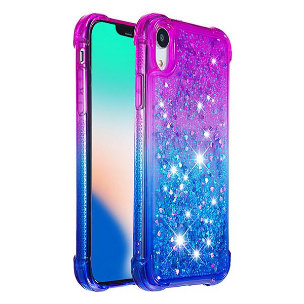 Anti-fall Quicksand Case For LG Aristo 2 Plus K8 LV3 2018 Stylo 4 Q Stylus 4 Glitter Liquid Skin Shell Soft Plastic Protect Phone Cover