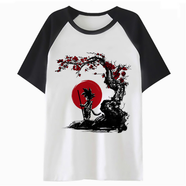 new style 91fe5 ba25e DragonBall Z Super Son Goku Vege T Shirt Tshirt Tee Hip For T Shirt  Harajuku Top Men Clothing Hop Male Funny Streetwear PF4241 Tee Shirts  Online ...