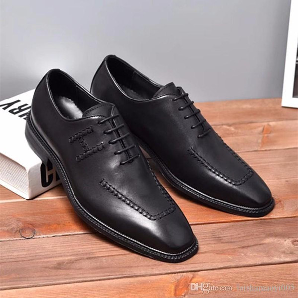 Men Genuine Leather Shoes Handmade Loafers Slip On Italian Brand Designer Male Dress Shoes Big Size 38-44
