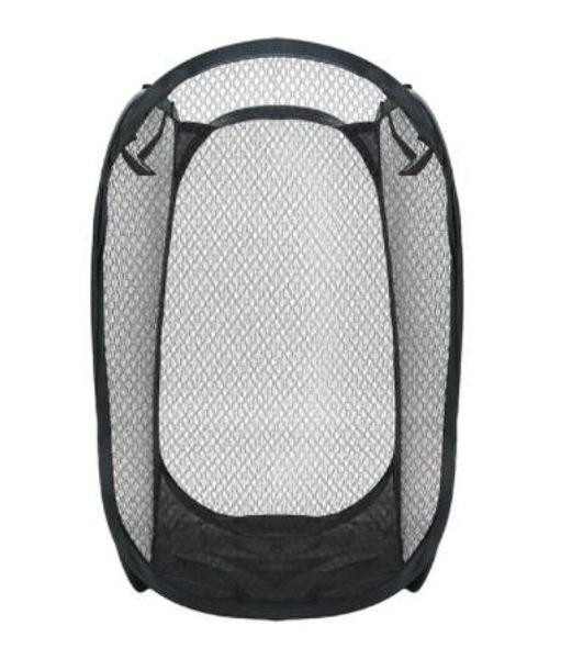 Foldable Mesh Laundry Basket Organizer Storage Containers Pop Up Washing Clothes Laundry Basket Bin Hamper Storage Bag 11Colors