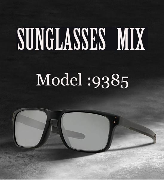 2019 Nueva moda gafas de sol polarizadas Hombres Marca Gafas de conducción Gafas mujer hombre gafas TR Gafas de sol con montura UV 400 Metal pierna 9835