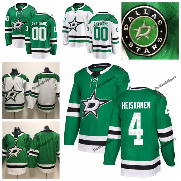 d520f84e992 2019 Miro Heiskanen Dallas Stars Hockey Jerseys Mens Cheap Custom Name Home  Green #4 Miro