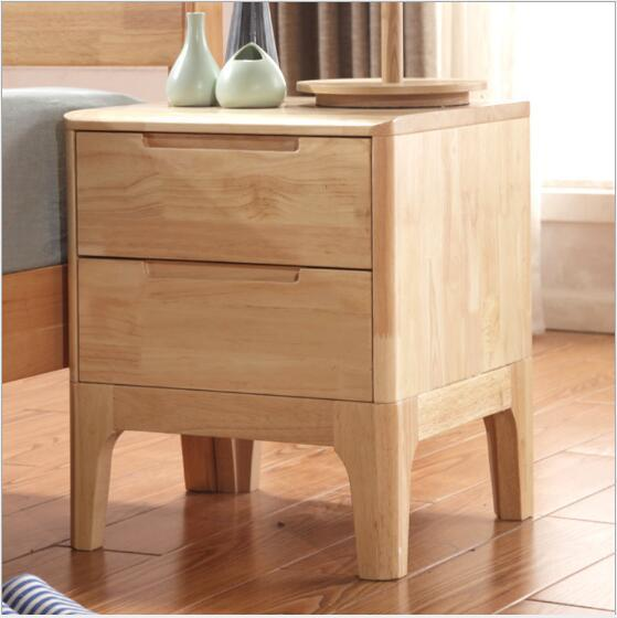 2019 Nordic Solid Wood Bedside Cabinet Simple Storage Cabinet  Multifunctional Simple Bedside Storage Corner Cabinet In Modern Bedroom  From ...