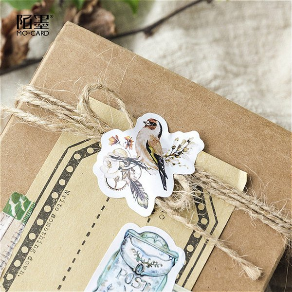 45Pcs/set kawaii bookmark style novel cute seal pattern Diary stickers planner office decor school supplies stationery