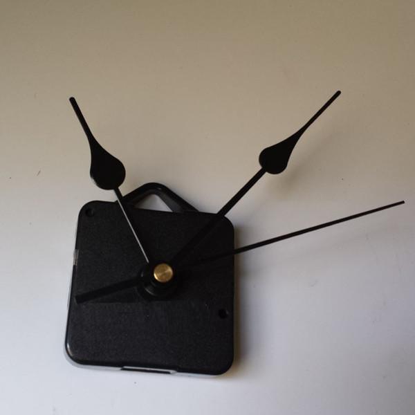 DIY кварцевые часы движение комплект черные часы аксессуары шпинделя механизм ремонта с ручными наборами длина вала 13 Лучший
