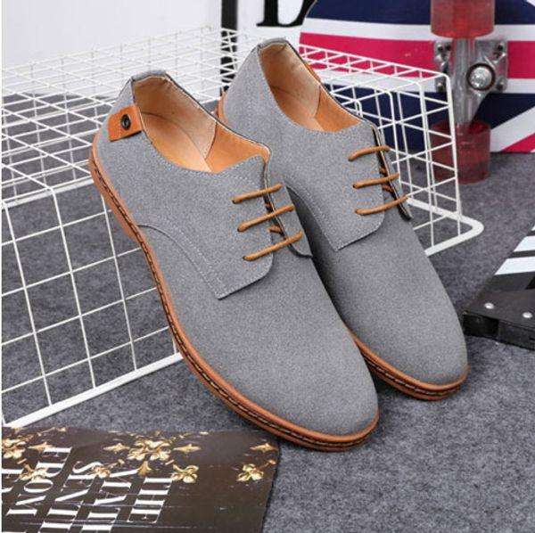 Casual Shoes Men Fashion Flock Men Casual Shoes High Quality Suede Casual Men Shoes Sneakers