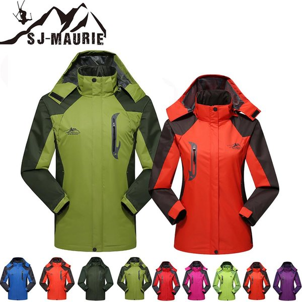 SJ-Maurie 10 Colors Ski Suit Jacket Couple Windbreaker Snowboarding Breathable Men and Women Sports Jacket Hiking Snowing L-4XL