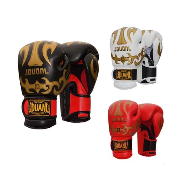10 unze PU Material Atmungsaktive Männliche Fitness Boxhandschuhe Muay Thai für Erwachsene Hohe Qualität Kampf Boxing Schutzausrüstung 3 Farben