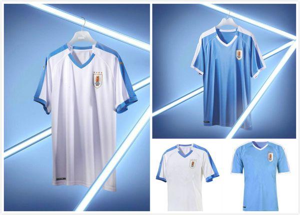 Uruguay 2019 Copa America soccer jersey home blue away white 19 20 Camisetas de futbol CAVANI SUAREZ D.GODIN football uniforms shirt