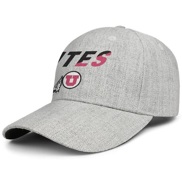 Utah Utes Football Mesh Logo Männer Frauen Wolle Visier Hut Luxus Designer Kappe Snapback Einstellbare Golf Hut Outdoor
