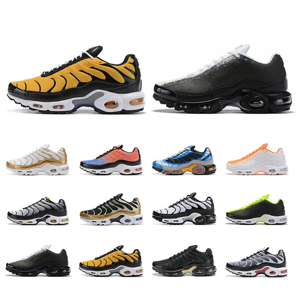 Zapatillas Nike New,Nike Air Max Plus TN SE Hombre Blancas