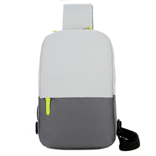 NEW UK Mens Sling Bag Backpack Crossbody One Strap Daypack Outdoor Travel Pack