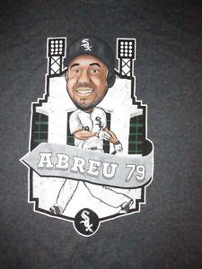 Chicago White Arrivex Jose Abreu 79 T-shirt de dessin animé Sz M Baseball Illinois