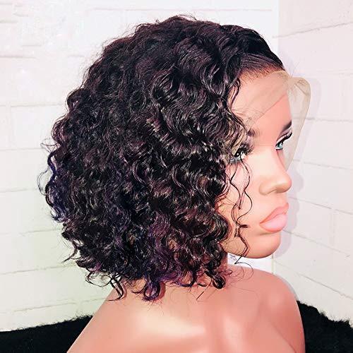 Perruques de cheveux humains en dentelle avec des cheveux vierges brésiliens, 150% de densité