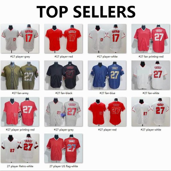 free shipping 1c76e c57ae 2019 Los Angeles Angels Jersey 27 MikeTrout 150th 17 Shohei Ohtani Majestic  Scarlet Alternate FlexBase CoolBase Authentic Collection Jerseys 2019 From  ...