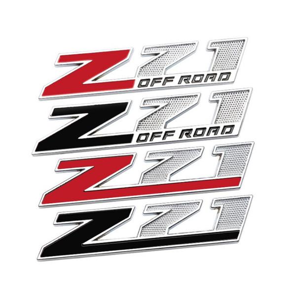 50 ADET 3D Metal Z71 KAPALI YOL Amblem Araba Çıkartmaları