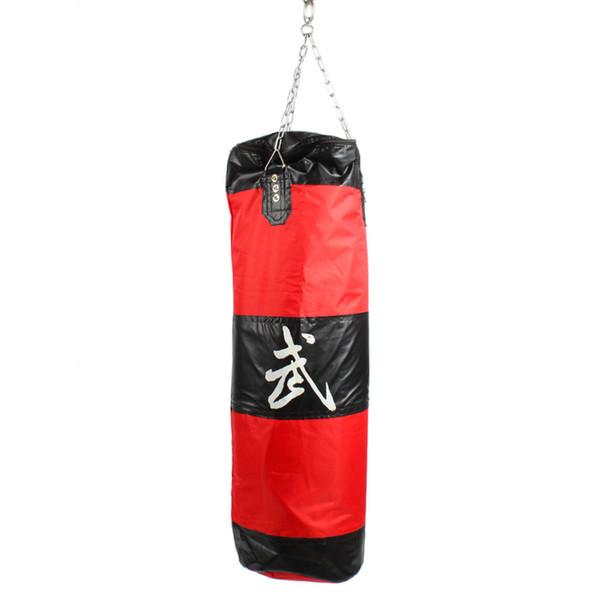 Zooboo Boxing Sanda Hanging Hollow Sandbags Red And Black