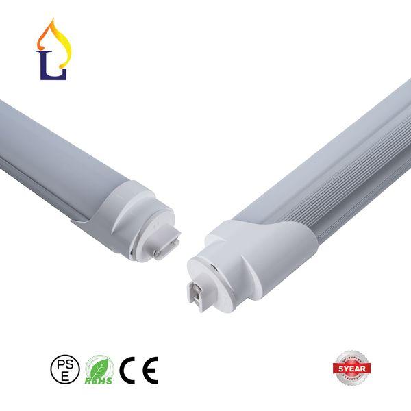 (25pcs/lot ) 12W 18w 24W26W 48W Super High brightness T8 LED tube light SMD2835 AC85-265V T8 single tubo lighting lamp