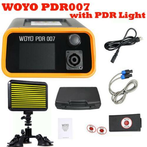 Ferramenta da remoção do reparo do dente de Paintless do corpo de WOYO PDR007 auto com luz do diodo emissor de luz PDR