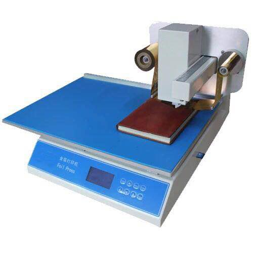 AM8025 Digital hot stamping machine without board Free plate hot stamping machine Fully automatic hot stamping machine