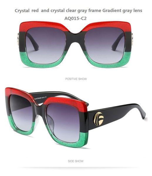 Couleur de lentilles: AQ015-C2