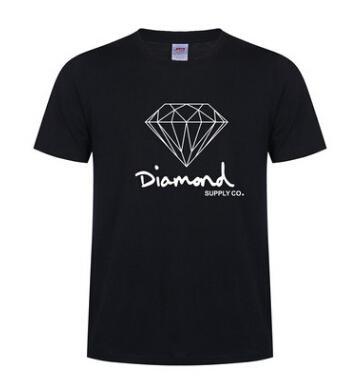 Neue sommer baumwolle herren t shirts mode kurzhülse gedruckt diamant versorgung co männlich tops tees skate marke hip hop sport kleidung 19ss