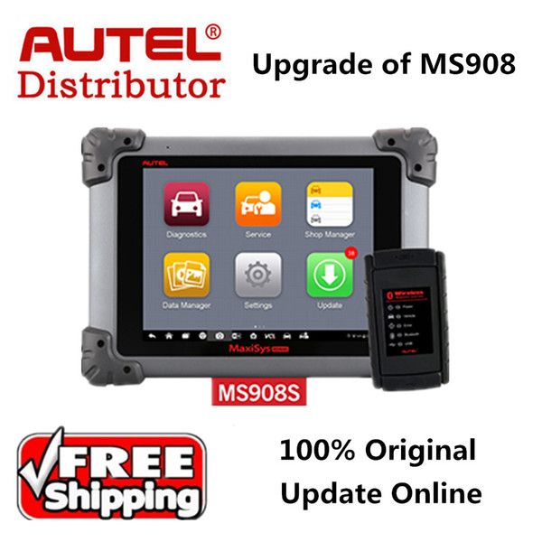 Autel Maxisys MS908S Upgrade of Autel Maxisys MS908 OBD2 Automotive Diagnostic Tool Scanner Analysis System with All Systems
