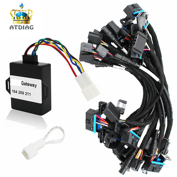 NEW 12 Cables EIS ELV Test Cables for M-ercedes for B-enz Works Together with VVDI MB BGA Tool with G-ateway 164 209 211 adapter