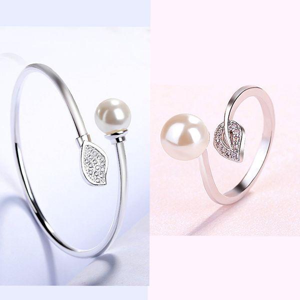 Браслеты кольцо белого Resizable