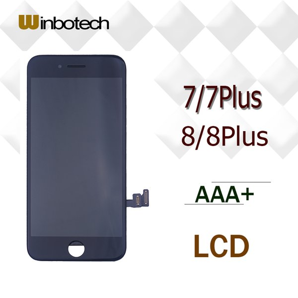 Winbotech Grade AAA LCD Replacement For iPhone 7 7 plus 8 8 plus + 12 months warranty + free DHL shipping