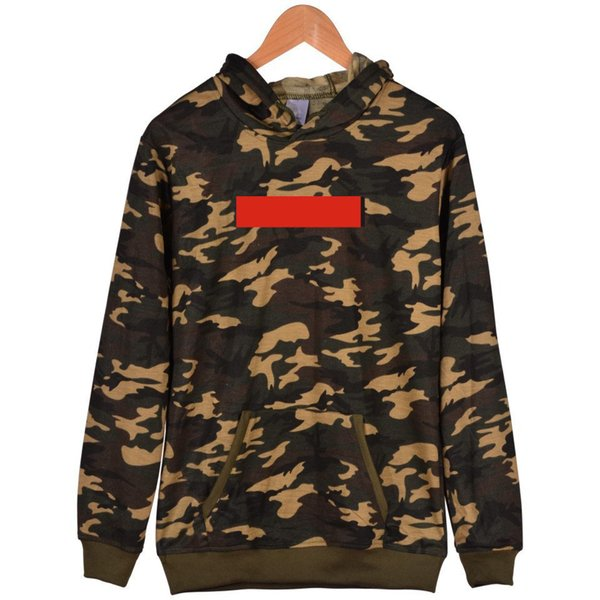 2019 new sup letter hoodies mens womens camouflage print hoodies fashion camo warm sweatshirts long sleeve casual plain jacket hoodie thumbnail