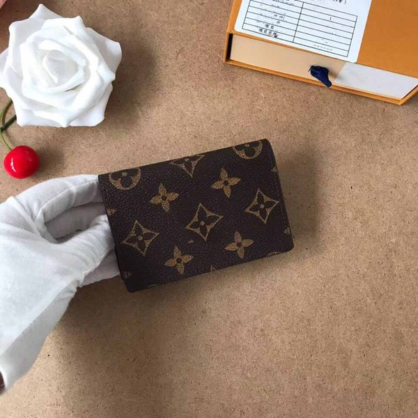 bolsa dos homens magros, carteira, carta de crédito titular, carteira fina, cartão de banco, saco de moedas, caixa ID de couro das mulheres de negócios 58117