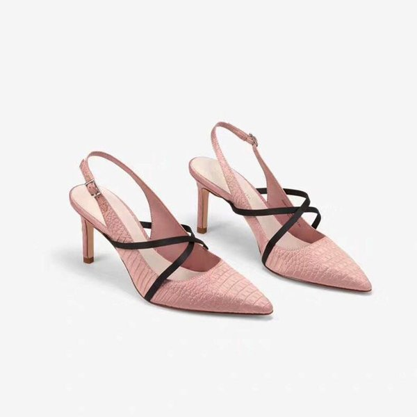 Hot Sale-Women Dress Shoes Summer Designer Women Sexy High Heels Shoes Women Sandals Female Pointed Toe Pumps Wedding Shoes Q-295