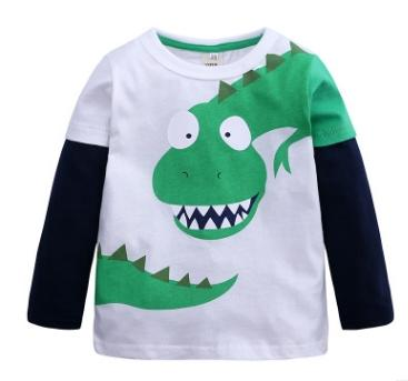 #2 cartoon dinosaur boys shirts