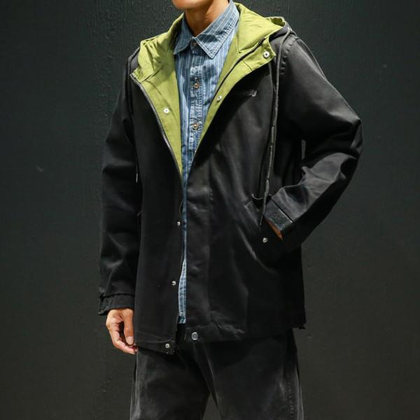 Куртка мужская мода уличная одежда 2019 новое пальто осень зима марка хип-хоп водонепроницаемая куртка мужской альпинистский костюм 5XL