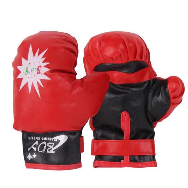 Children's Boxing Gloves Hand Target Sandbag Set Baffle Child Fitness Boy Exercise Sports Toys