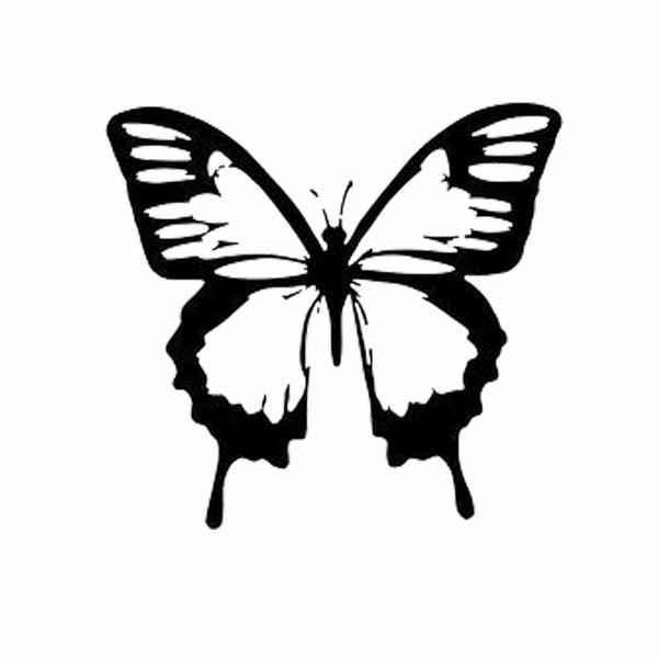 Butterfly Window Decoration Car Laptop Window Wall Decal Packaging Accessories Personality