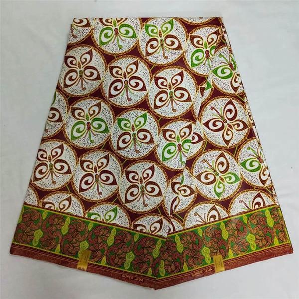 T2!so beautiful African wax printed fabrics veritable wax hollandais style real wrappa ankara Africa java !L60519