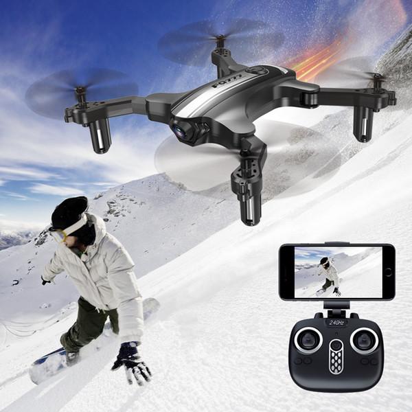 Foldable Mini RC Drone FQ777 FQ31W RC Helicoputer 30W Camera WIFI FPV Altitude Hold Headless Mode One Key Return RC Quadcopters