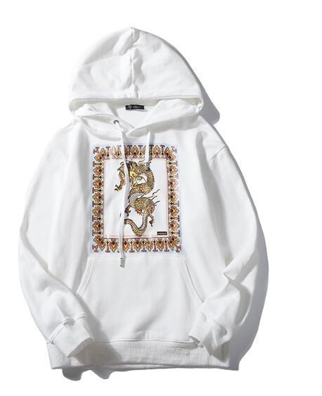 горячая распродажа осень новый высокого класса спортивная ABC versace мужская толстовка владелец мужская с капюшоном толстовка высокое качество мода топ поло пуловер
