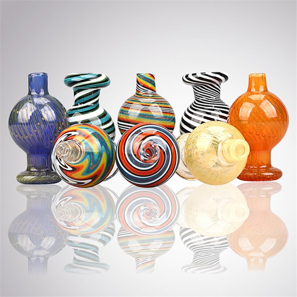 Soultonglass премиум нам цвет пузырь карбюратора крышка парик вилять купола ОД 26мм для кварца кварц фейерверками ногтей стекло Бонг нефтяной вышке