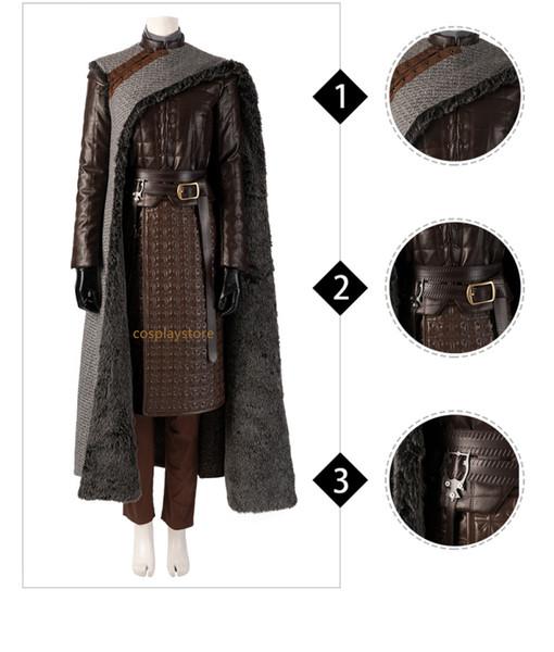 Game Of Thrones Season 8 Melisandre Arya Stark Costume Cosplay Adult Halloween Christmas Custome Best Anime Halloween Costumes Simple Anime Cosplay