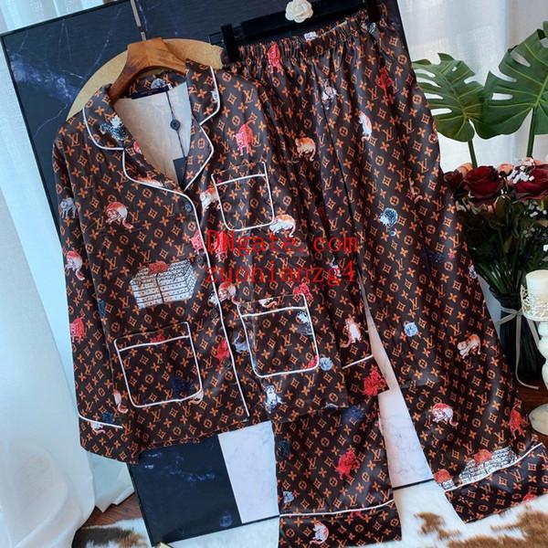 Mulheres de duas peças outfits mulheres Treino impresso terno de manga Longa top T-shirt + cintura Alta elástico banda larga-perna calças roupas femininas TS-13