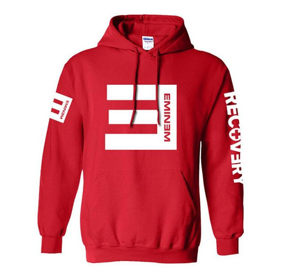 Free shipping best new Winter Men's Fleece Hoodies Eminem Printed Thicken Pullover Sweatshirt Men Sportswear Fashion Clothing free shipping